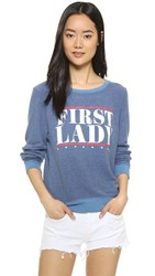 Wildfox Couture First Lady Sweatshirt Monday Blues