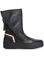 Bruno Bordese Metallic Detail Boots Black