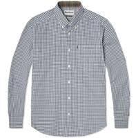 Barbour Country Gingham Shirt Navy