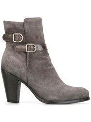 Officine Creative 'Pisier' Ankle Boots Grey