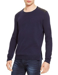 Kenneth Cole Crewneck Sweater Indigo Blue