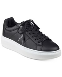 G By Guess Harly Platform Lace Up Sneakers Women's Shoes Black