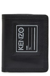 Kenzo Men's Small Leather Wallet