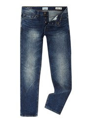 Only And Sons Weft Regular Fit Jeans Denim Mid Wash