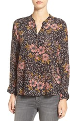 Zadig And Voltaire Women's 'Chai' Floral Print Silk Blouse