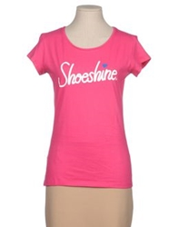 Shoeshine Short Sleeve T Shirts Fuchsia