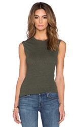 Lanston Tri Blend Fitted Muscle Tee Green