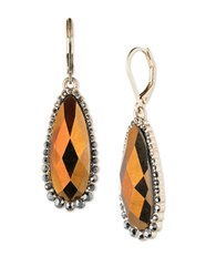 Lonna And Lilly Goldtone Pear Drop Earrings
