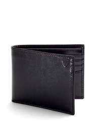 Aspinal Of London Billfold Wallet Black
