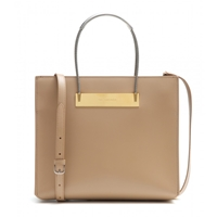 Balenciaga Cable Shopper Small Leather Tote Beige Nouveau