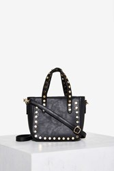 Taking Totes Studded Bag Black