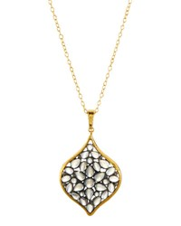 Gurhan Clove Venus 24K Moonstone And Diamond Pendant Necklace