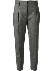 Brunello Cucinelli Tweed Trousers Grey