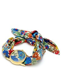 Flowers Of Liberty Margaret Annie Liberty Print Knot Watch