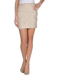 Hotel Particulier Mini Skirts Ivory