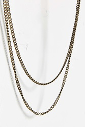 Profound Aesthetic Double Wrap Necklace Bronze