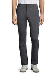 Revo Zipped Heathered Pants Charcoal