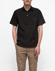 Barena Short Sleeved Popover Black