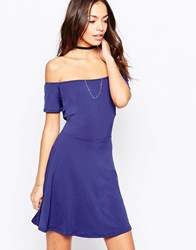 Motel Catalina Dress Navy
