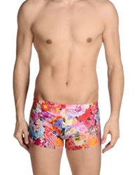 Basso And Brooke Swimming Trunks Pink