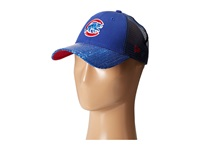 New Era Sequin Vize Chicago Cubs Team Medium Blue Caps