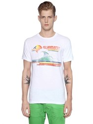 Dsquared2 Slim Fit Summer Cotton Jersey T Shirt