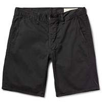 Rag And Bone Standard Issue Cotton Twill Shorts Charcoal