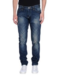 Philipp Plein Homme Denim Pants Blue