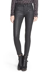 Women's Belstaff 'Amelie' Coated Denim Ankle Skinny Jeans