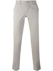 Etro Classic Chinos Nude And Neutrals