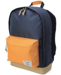 Element Men's Beyond Coloblocked Backpack Blue Orange