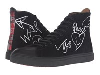 Vivienne Westwood High Top Trainer Black White