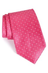 Men's Nordstrom Men's Shop 'Love Dot' Silk Tie Pink