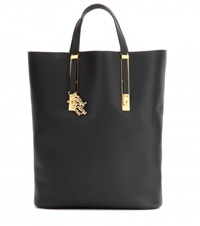 Sophie Hulme Gibson Leather Tote Black
