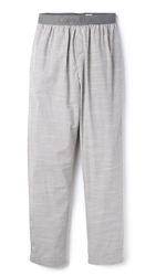 Calvin Klein Underwear Pajama Pants Grey Chambray