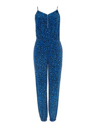 Pied A Terre Printed Jumpsuit Multi Coloured