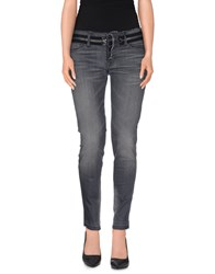 Hudson Denim Denim Trousers Women Grey