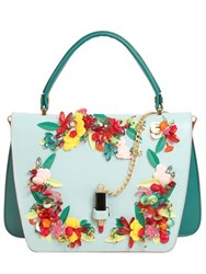 Giancarlo Petriglia Queen Embellished Floral Leather Bag