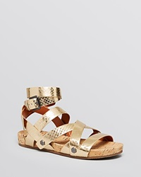 Rebecca Minkoff Open Toe Flat Sandals Tristen