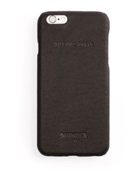 Leather Wrapped Iphone 6 Case Brown Shinola