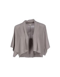 Hoss Intropia Topwear Shrugs Women Grey
