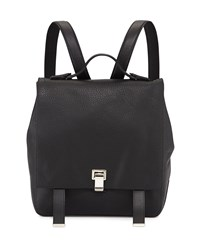 Ps Large Leather Backpack Black Proenza Schouler