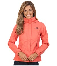 The North Face Resolve Jacket Spiced Coral Women's Coat Orange