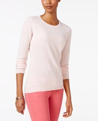 Charter Club Cashmere Crew Neck Sweater Only At Macy's Parasol