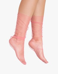 Pan And The Dream Pink Tulle Sock