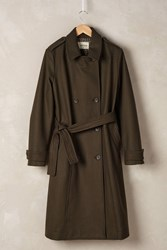 Ottod'ame Veritie Military Coat Khaki
