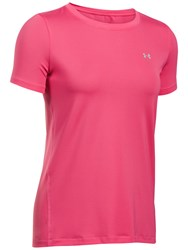 Under Armour Crew Neck T Shirt Pink