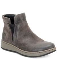 Born Zyba Ankle Booties Women's Shoes Grey