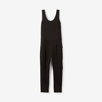 Objects Without Meaning Nika Silk Jumpsuit Ink