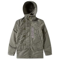 Beams Plus N 3B Down Parka Green